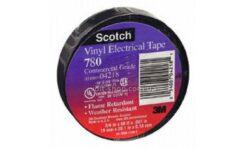 Изолента ПВХ Scotch 780 19ммх20м, черная (thumb28491)