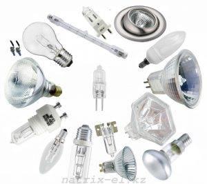 Типы галогенных ламп