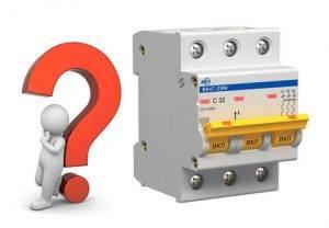 Выбор автоматического выключателя по току