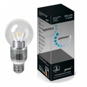 Диммируемые светодиодные лампы купить