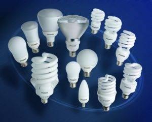 Энергосберегающие компактные люминесцентные лампы