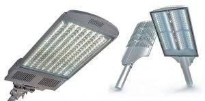 Уличные светодиодные светильники на столбы