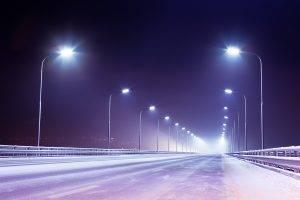 Уличное освещение светодиодными светильниками